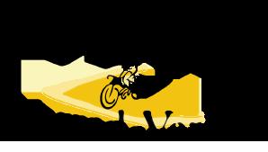 Grafik: Logo der Firma Stefans Fahrradverleih